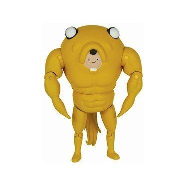 Adventure Time 5 Inch Action Figure Finn in Jake Suit by Jazwares Toys. $8.99. It's great! And it stands 5-inches tall.. It's an awesome Adventure Time with Finn and Jake Finn in a Jake Suit action figure! Jake has molded his body around Finn's to make them look like one big 'ol buff dude.. So get one! Ages 4 and up..  Feel like a big 'ol buff guy with Finn and Jake! This awesome Adventure Time with Finn and Jake action figure shows how good the duo ...