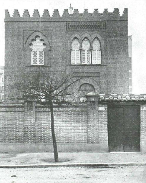 1920. Casa de Pérez Galdós en la calle de Hilarión Eslava