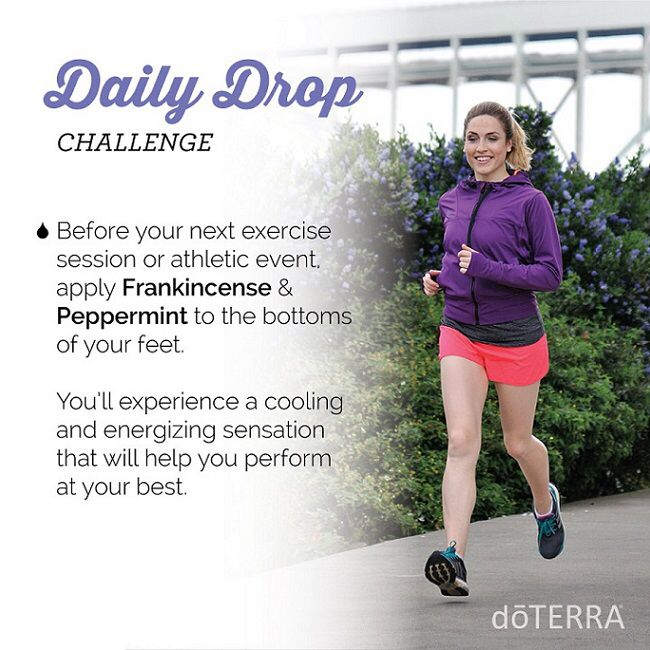 doTERRA for 'Athletic Edge' Here's a quick video and great essential oil usage tip I thought you would be interested in. https://doterra.com/US/en/dailydrop/lifestyle/06  To get daily videos and tips just like this one, download the daily drop app here. https://doterra.com/US/en/university/living/daily-drop