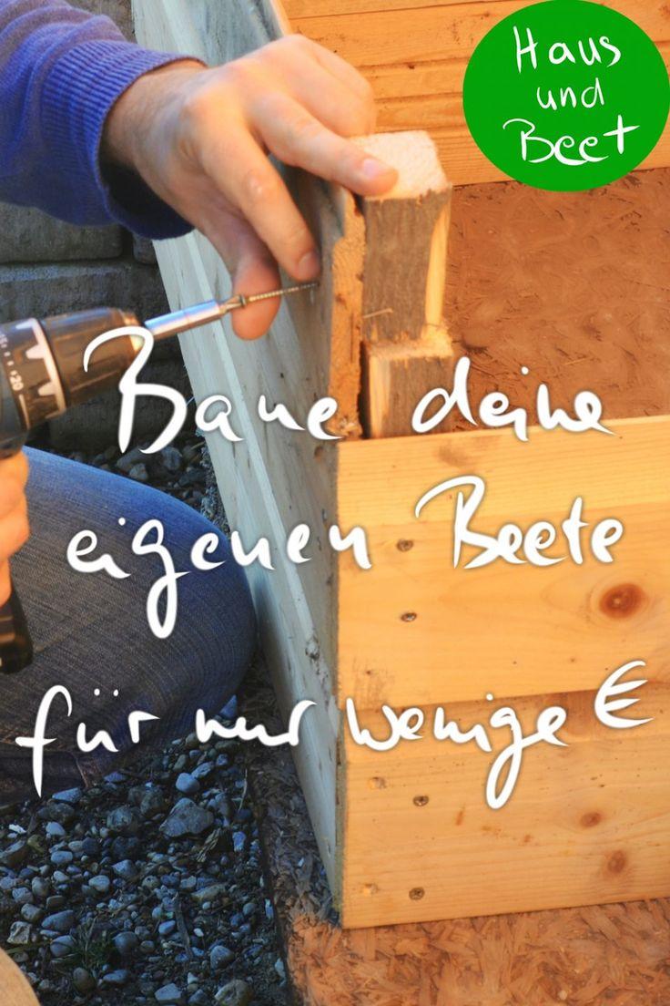 Bauanleitung Beete zum Zusammenstecken – Haus und Beet – Gemüse anbauen, Brot backen, vegetarische Rezepte, Nachhaltigkeit auch für Anfänger