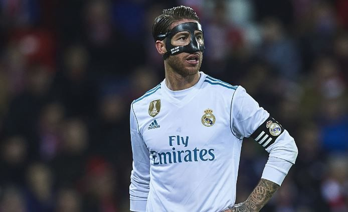 Real Madrid defender Sergio Ramos was sent off late in a 0-0 draw with Athletic Bilbao on Saturday, making him the most red-carded player in the history of La Liga.   www.18onlinegame.com