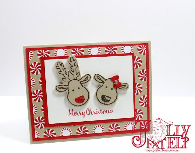 The Jolly Fat Elf: Stampin' Up! Cookie Cutter Christmas Card #1 Mass Producing…