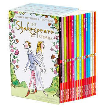 The Shakespeare Stories: 16 Book Box Set
