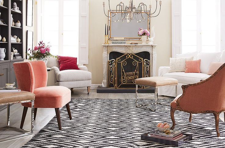 17 best ideas about pink living room furniture on for Ideal living room furniture layout
