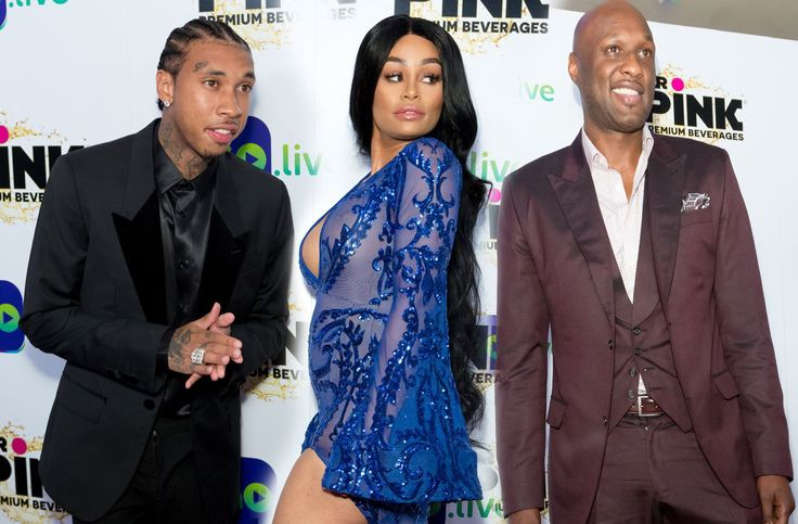 Kardashian-Jenner Exes Meet On The Red Carpet! Blac Chyna Poses With Lamar Odom And Tyga Talks Co-Parenting! #BlacChyna, #Kuwk, #LamarOdom, #TheKardashians, #Tyga celebrityinsider.org #Entertainment #celebrityinsider #celebrities #celebrity #celebritynews