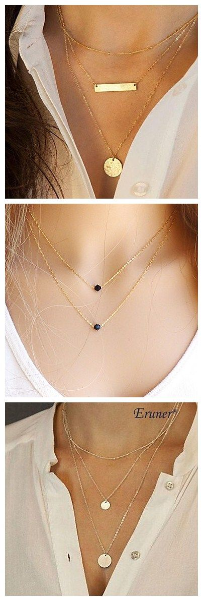 Do you know that this simple but classic necklace style is a HIT in 2015? Get it now!