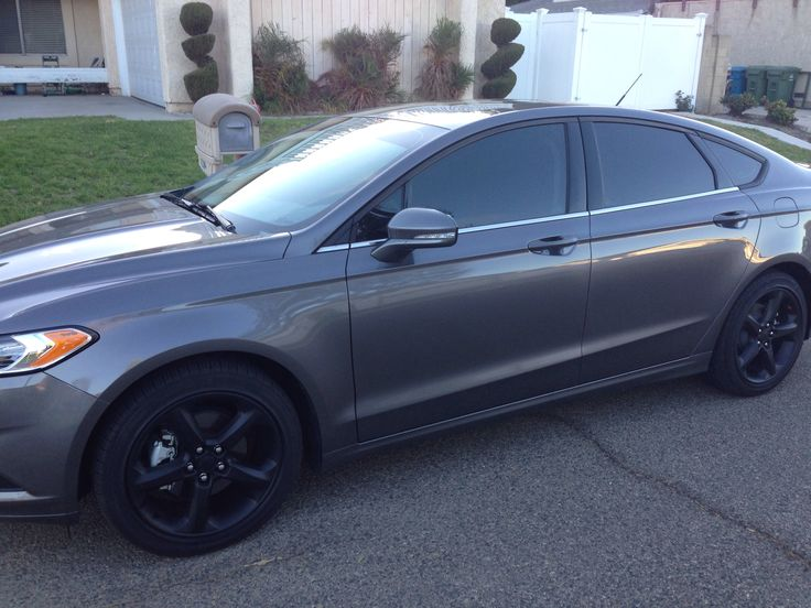 2015 Ford Fusion Rims >> 2013 #Ford #Fusion #plastidip #tint | My life | Pinterest | 2013 ford fusion, Ford and Cars