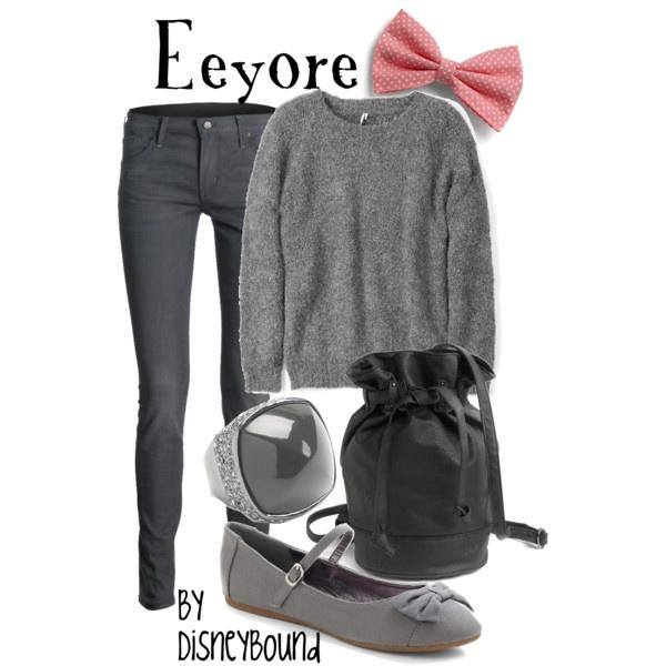 Disneybound's Eeyore - who doesn't love Eeyore?