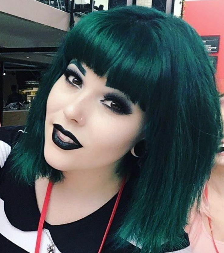 emerald green hair ideas