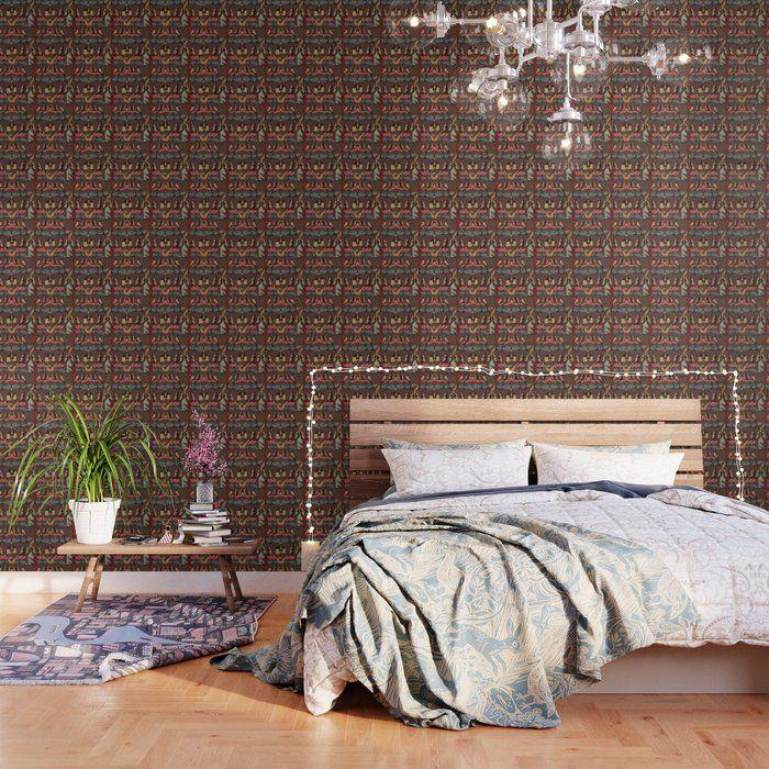 African Tapestry Repeat Design Wallpaper By Justkidding Wallpaper Graphicdesign Graphicdesign Cheap Bedroom Furniture Carpet Design Peel And Stick Wallpaper