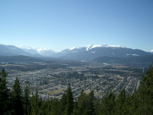View from Terrace Mountain, Terrace BC