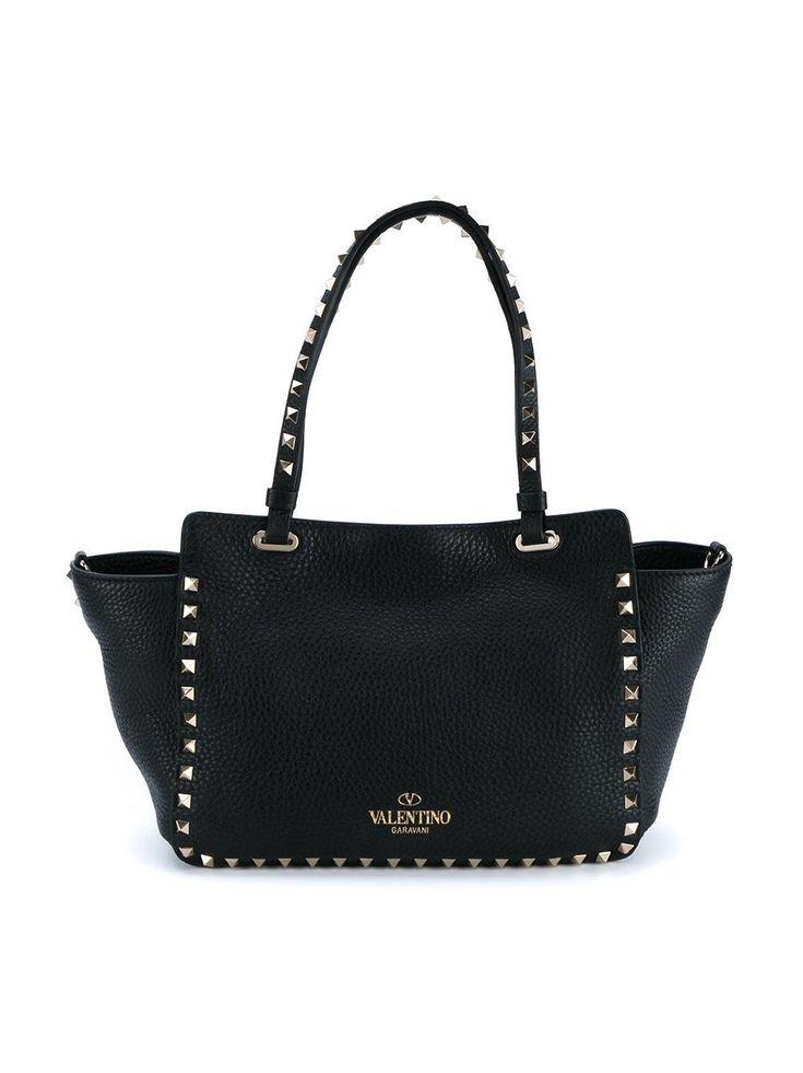 Valentino Valentino Garavani 'Rockstud' trapeze tote Women Bags,valentino garavani sneakers,affordable price