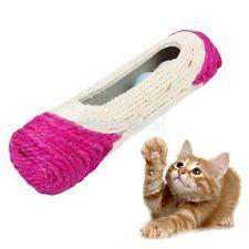 Haustier Katze Spielzeug Kratzrolle Spielrolle Sisal-Kratzbaum kratzen Ball
