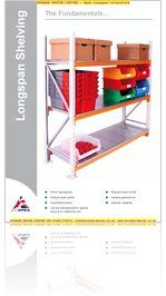 Apex Longspan Shelving System from Storage Design Limited
