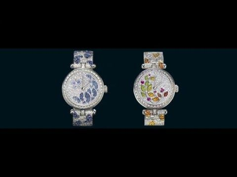 With the Lady Jour des Fleurs and the Lady Nuit des Papillons watches, the Maison blends High Jewelry craftsmanship with the spirit of the Poetic Complications™ collection in a unique combination.