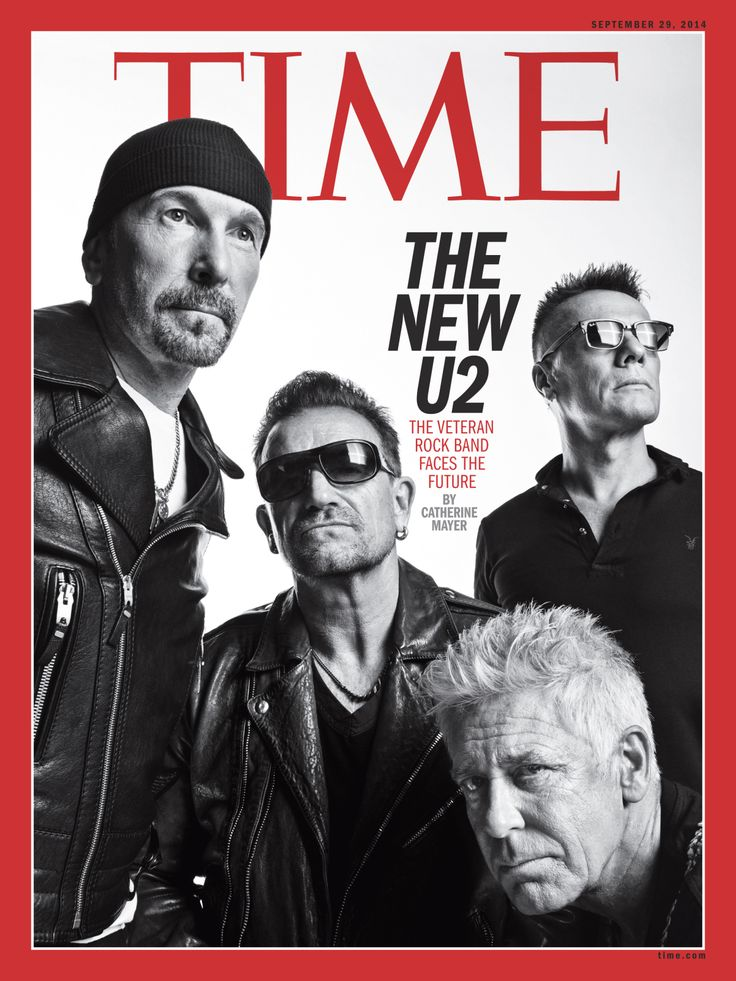 The four members of the legendary Irish band tell TIME about another new album in the works—and its secret Apple project that might just save the music industry | TIME