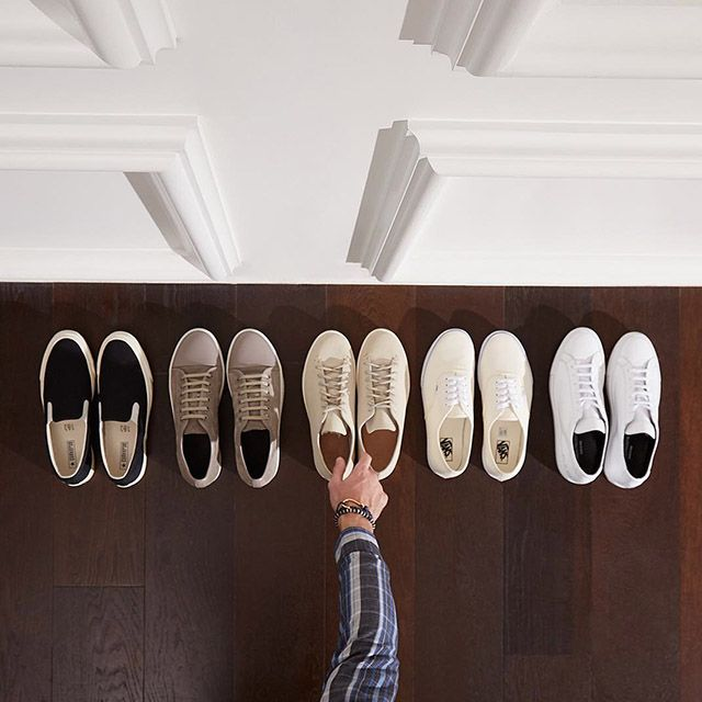 Which ones do you prefer?  #sneakers #mrporter #man #style
