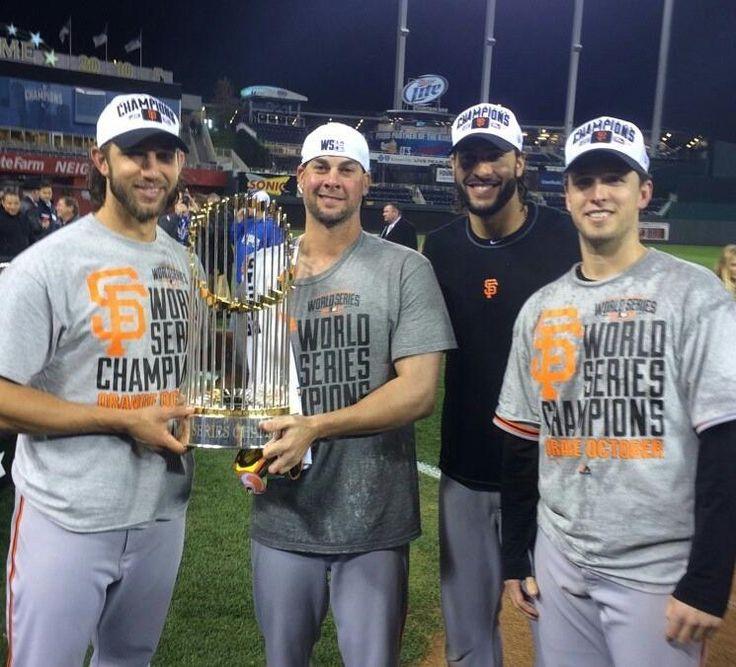 SF Giants World Series Champions 2014