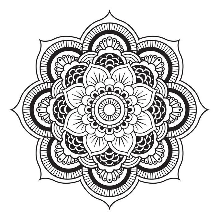 A Mandala. | All Art is Quite Useless | Pinterest