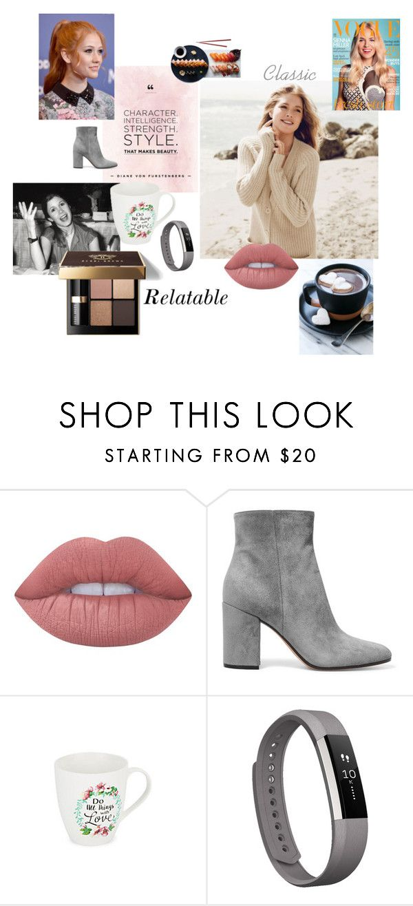 """""""Next Consumer"""" by emily-hutchin on Polyvore featuring Lime Crime, Gianvito Rossi, Bobbi Brown Cosmetics, INC International Concepts, Fitbit and Repeat Cashmere"""