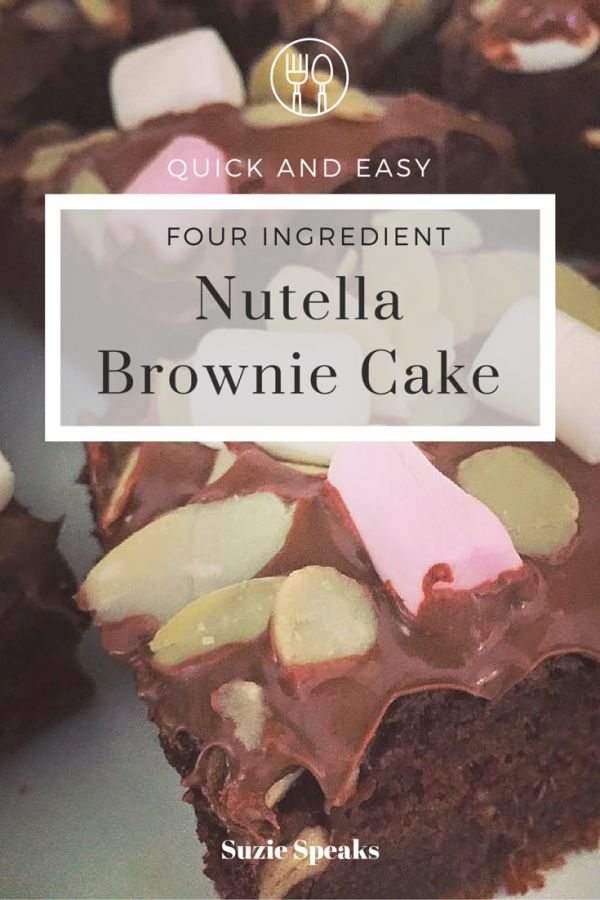 A quick and easy Nutella recipe using just four ingredients - great for showing off!