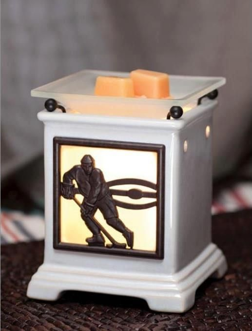 Scentsy 'Slapshot' Warmer .. Perfect gift for Dad or any hockey lover:)