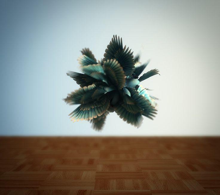 Spherical Harmonics, A Surreal Experimental Computer Animation