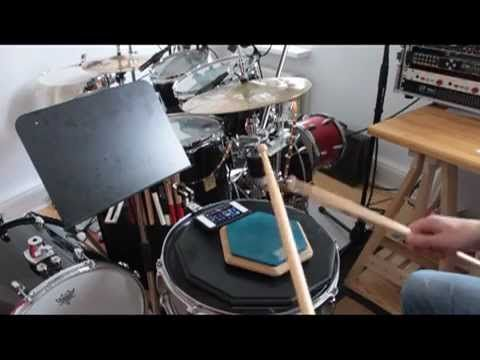 Single Paradiddle Diddle - 80 bis 170 BPM