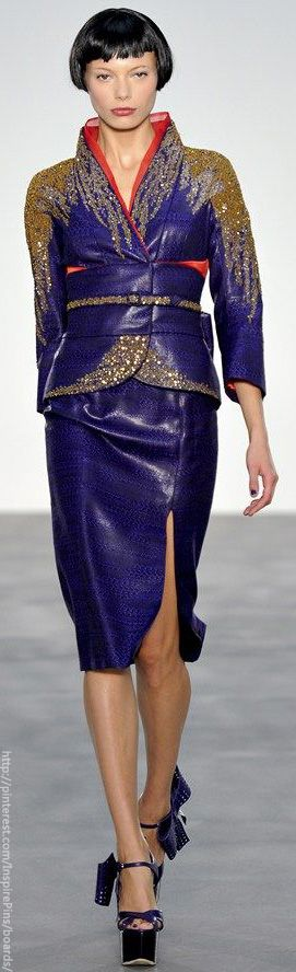 London Spring 2014 - L'Wren Scott