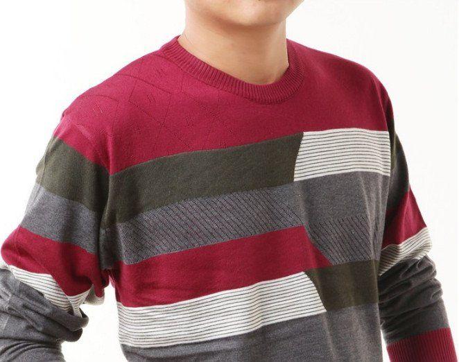 Мужской кашемировый пуловер