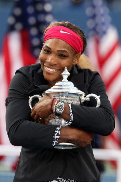 Serena Williams Photos - 2014 US Open Champion Serena Williams New York City Trophy Tour - Zimbio