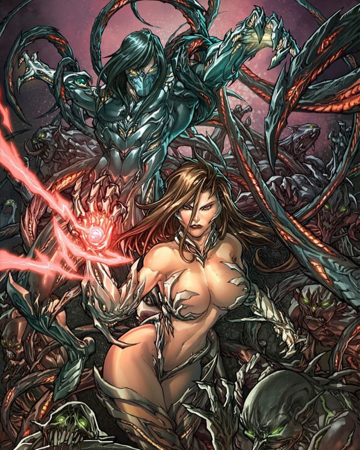 The darkness & witchblade