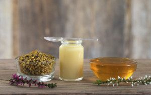 Bee Pollen, Royal Jelly and Honey