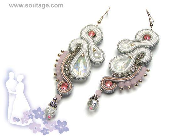 Andromeda earrings - Sutasz-Anka http://www.soutage.com/2013/05/andromeda-kolczyki.html
