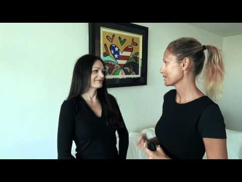 Patrizia Saolini interviews Lisa Edwards in Miami