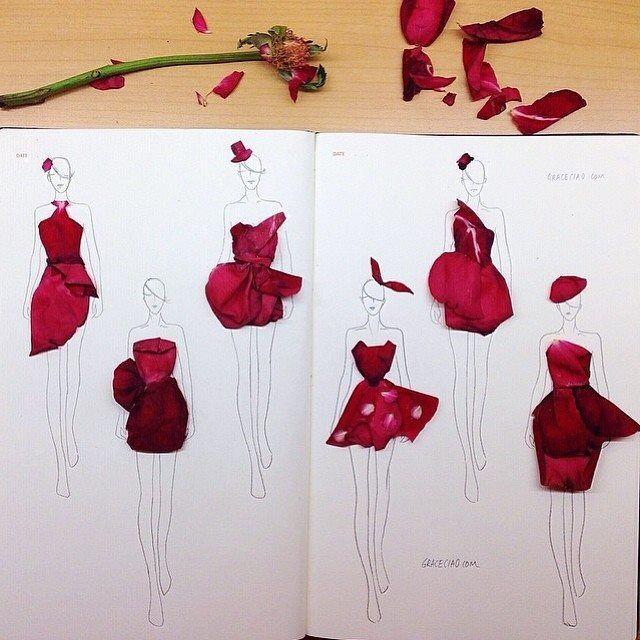 Con petalos de rosa