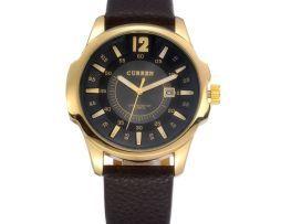 Luxusné pánske hodinky Curren s čiernym ciferníkom