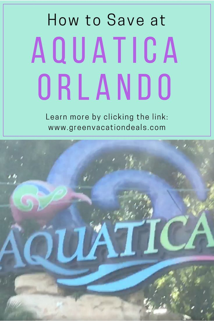 Save 39 99 On Aquatica Orlando Tickets Orlando Vacation