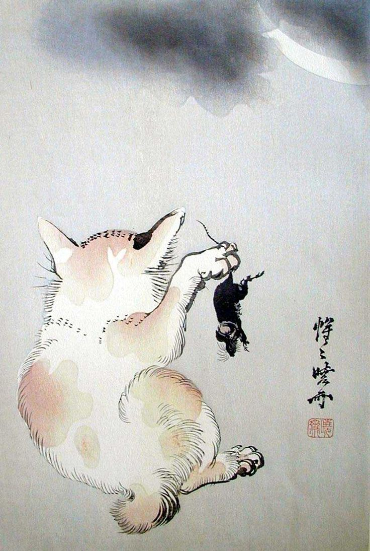 1000 Images About Cats In Japanese Art On Pinterest