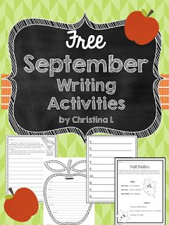 Celebrating September (Plus Some Free Writing Activities)