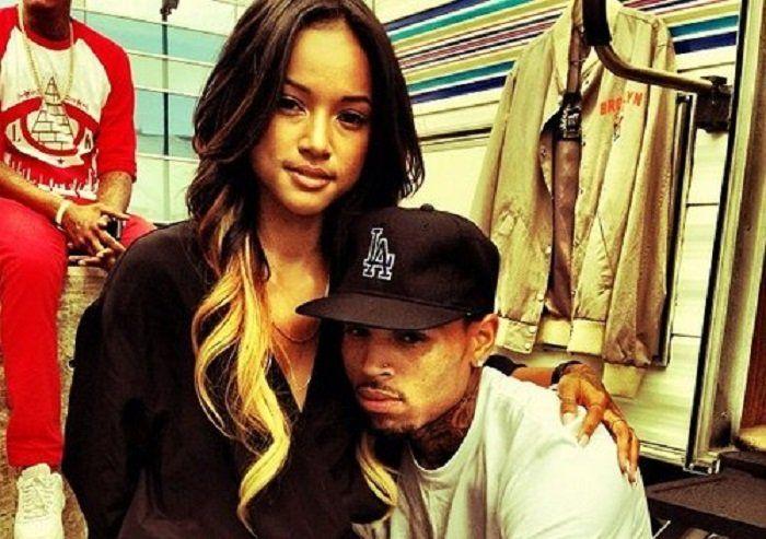 Chris Brown and Karrueche Tran Fight On Instagram!