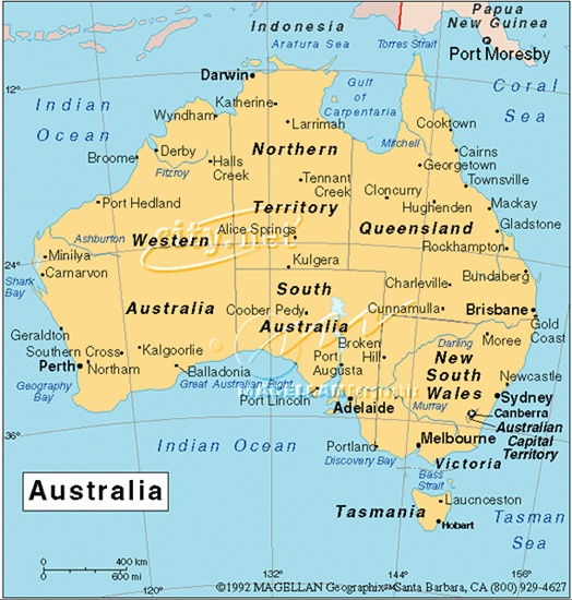 Australia next year [2014] if all goes to plan !