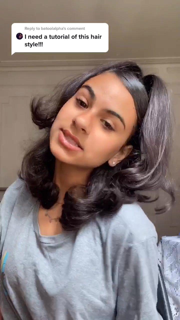 Dodi Dina Abdalla2 On Tiktok Reply To Batoolalpha I Suckkk But I Hope This Helped Hair Styles Flat Iron Hair Styles Slick Hairstyles