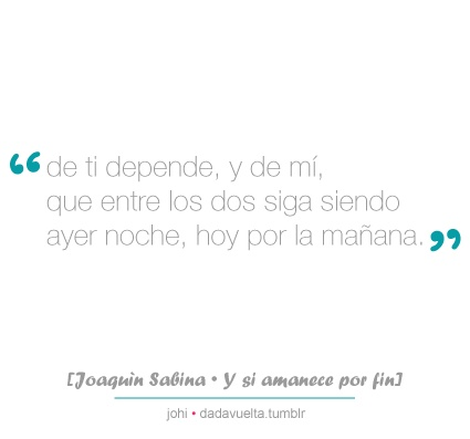 Joaquin Sabina-Y si amanece por fin