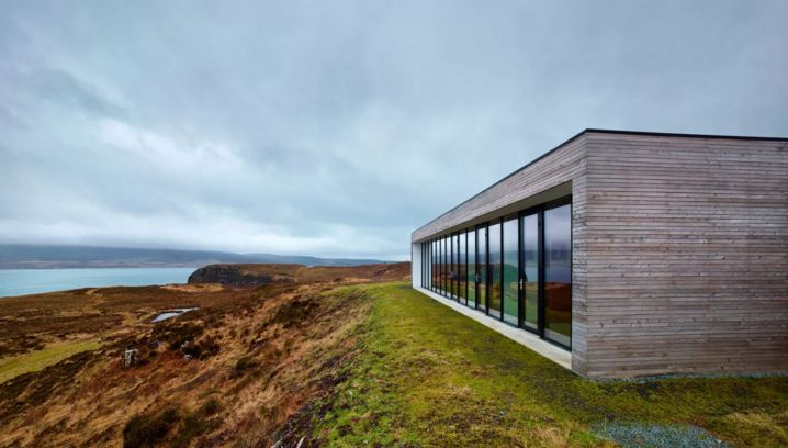 #ArchitectureinLandscape Cliff House by Dualchas Architects in Scotland