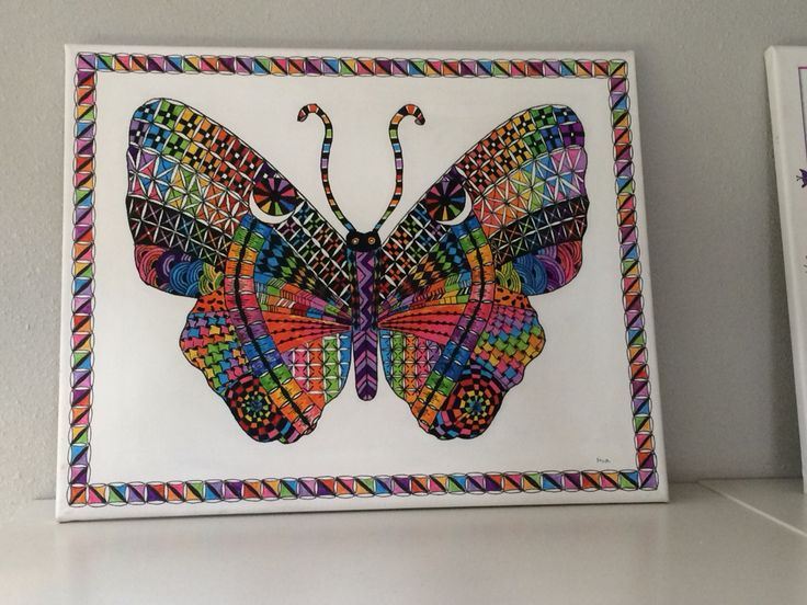 zentangle by Ria Bos