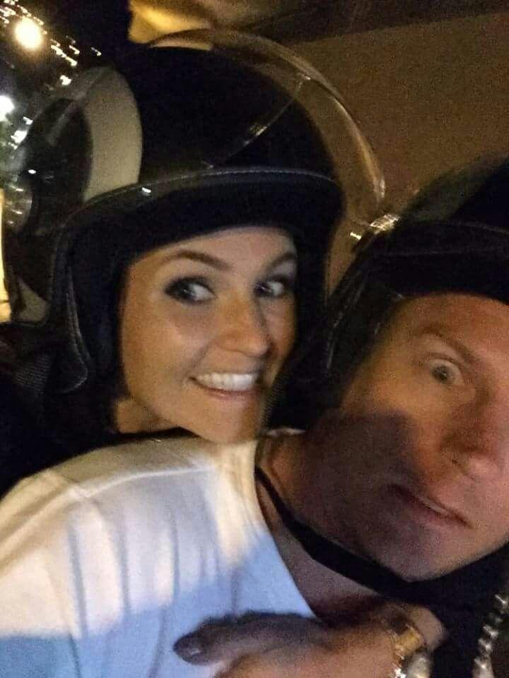 Kimi Räikkönen and Minttu Virtanen's funny selfie in Monaco :D