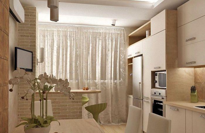 Идея маленькой кухни хрущевки 6 кв. метров дизайн фото