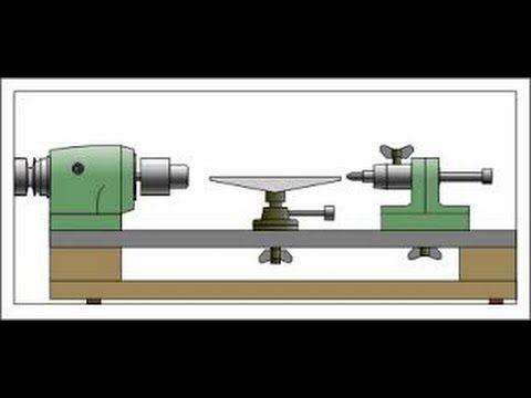 КАК СДЕЛАТЬ ТОКАРНЫЙ СТАНОК ПО ДЕРЕВУ СВОИМИ РУКАМИ. DIY Wood Lathe - YouTube