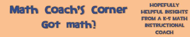 Math Instructional Coach blog